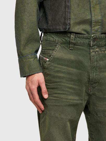 Diesel - D-Azerr JoggJeans® 069WH, Verde Militare - Jeans - Image 5