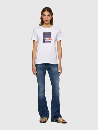 Diesel - T-SILY-B3, White - T-Shirts - Image 4