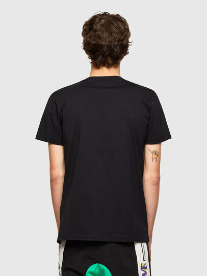Diesel - T-DIEGOS-LAB, Black - T-Shirts - Image 2