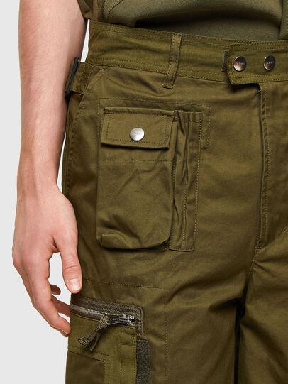 Diesel - P-CYAN-SHORT, Vert Militaire - Shorts - Image 4