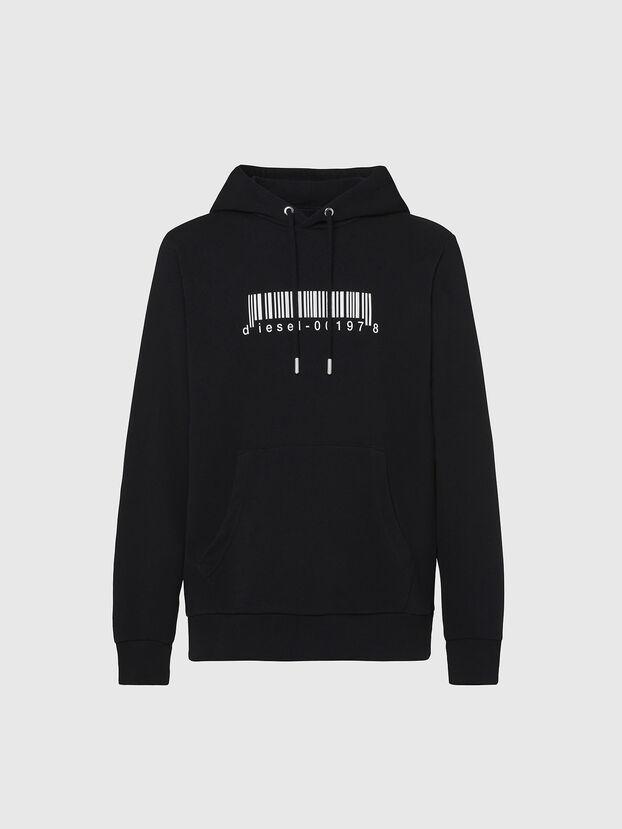 S-GIRK-HOOD-X2, Schwarz - Sweatshirts