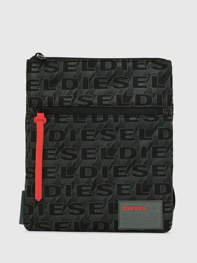 Diesel - F-DISCOVER CROSS, Schwarz/Grün - Schultertaschen - Image 1