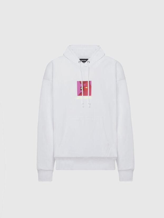 S-ALBY-X5, Weiß - Sweatshirts