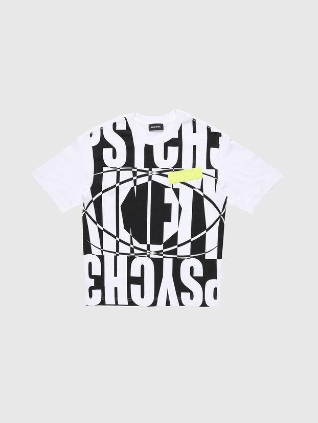 TLUCASSLY1 OVER, Weiß/Schwarz - T-Shirts und Tops