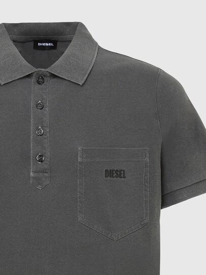 Diesel - T-KAL-2, Noir - Polos - Image 3
