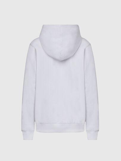 Diesel - F-ANG-HOOD-K20, Weiß - Sweatshirts - Image 2