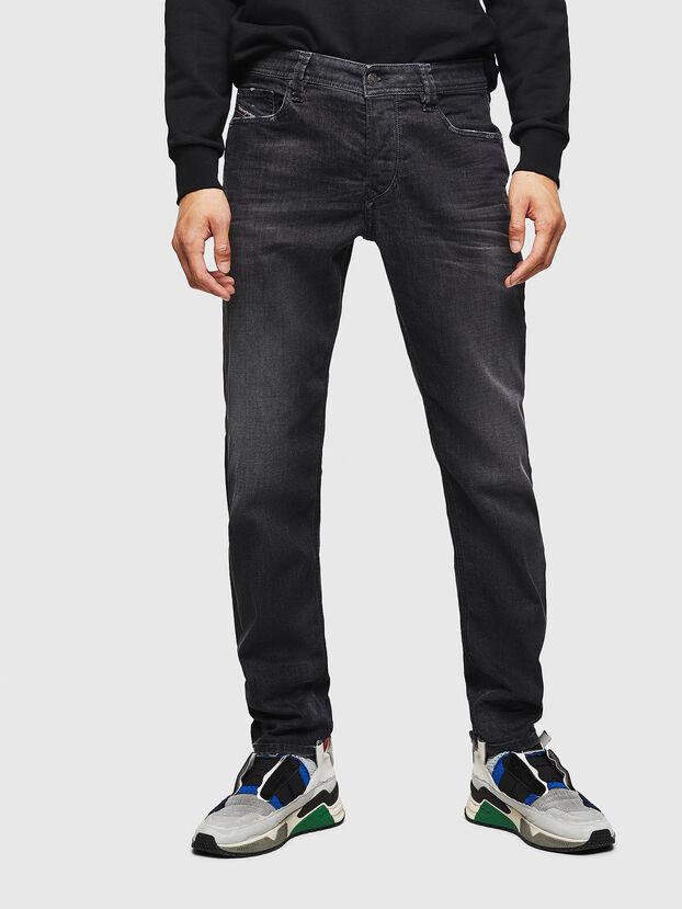 Larkee-Beex 082AS, Schwarz/Dunkelgrau - Jeans