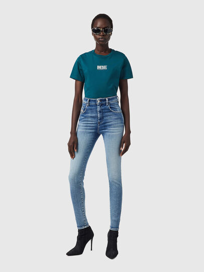 Diesel - Slandy High 09B09, Light Blue - Jeans - Image 5