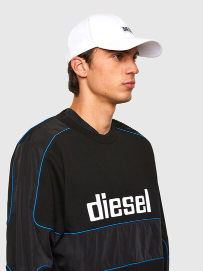 Diesel - S-LAIN, Noir - Pull Cotton - Image 4