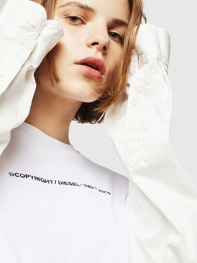 Diesel - T-SILY-WR, Weiß - T-Shirts - Image 5