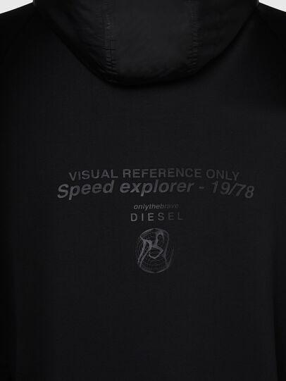 Diesel - S-RUNNER, Schwarz - Sweatshirts - Image 4
