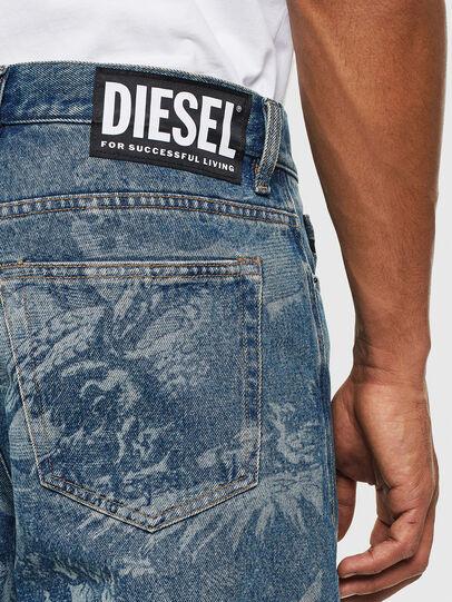 Diesel - D-Vider 0079D, Mittelblau - Jeans - Image 5