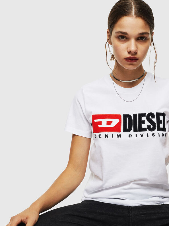T-SILY-DIVISION, Weiß - T-Shirts