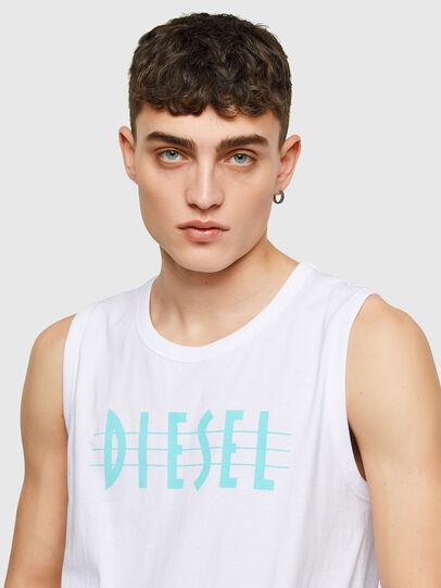 Diesel - T-OPPY, Bianco - T-Shirts - Image 3