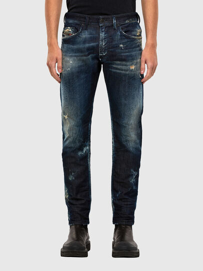 Diesel - Thommer JoggJeans 009KI, Dunkelblau - Jeans - Image 1