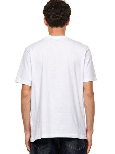 Diesel - T-JUST-B60, Weiß - T-Shirts - Image 2