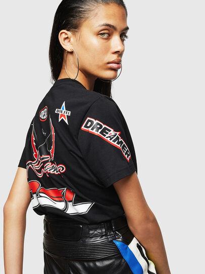 Diesel - ASTARS-T-DIEGO-FL, Schwarz - T-Shirts - Image 5