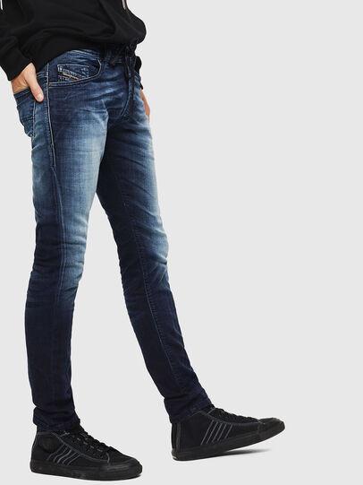Diesel - Thommer JoggJeans 069IE, Dunkelblau - Jeans - Image 5