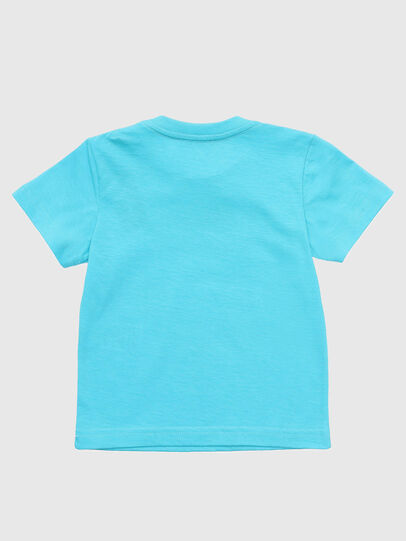 Diesel - TJUSTDIXB, Azurblau - T-Shirts und Tops - Image 2