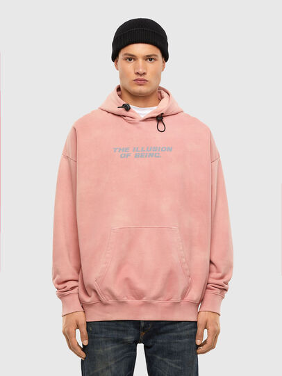 Diesel - S-UMMEREL-N73, Rosa - Sweatshirts - Image 1