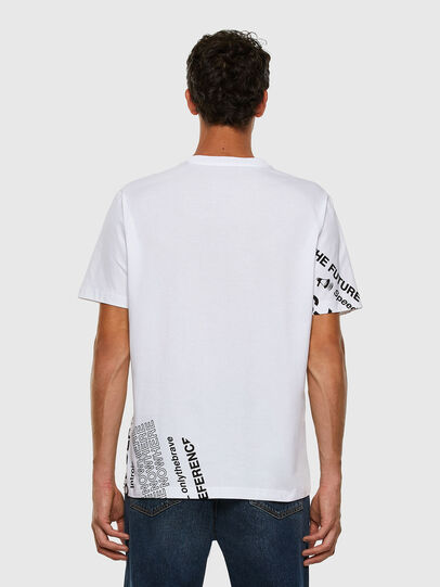Diesel - T-JUST-FOLDED, Weiß - T-Shirts - Image 7