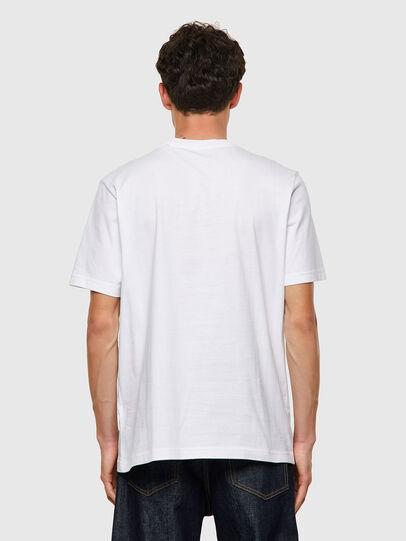 Diesel - T-JUST-B60, Blanc - T-Shirts - Image 2
