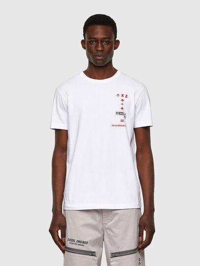 Diesel - T-DIEGOS-B4, Weiß - T-Shirts - Image 1