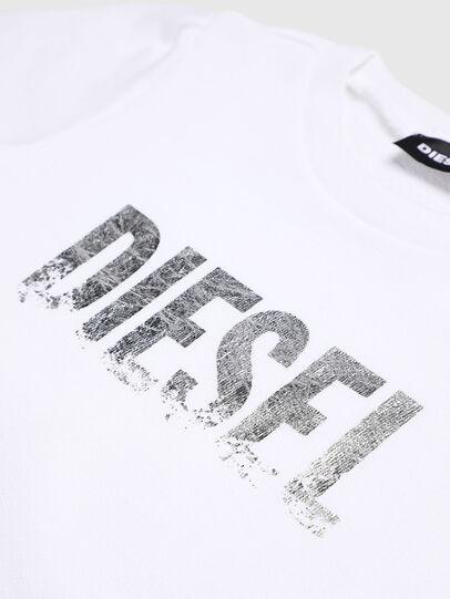 Diesel - SRALLYB-R, Weiß - Sweatshirts - Image 3