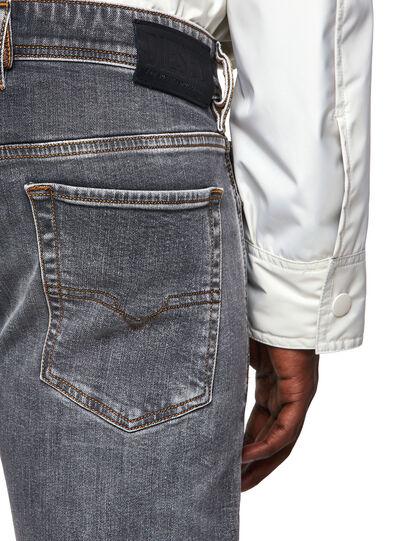Diesel - Sleenker 009FW, Grigio Chiaro - Jeans - Image 3