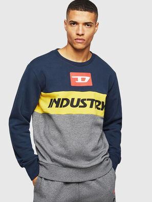 UMLT-WILLY, Blau/Grau - Sweatshirts