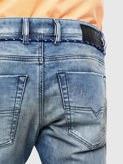Diesel - Krooley JoggJeans 0099Q, Mittelblau - Jeans - Image 4