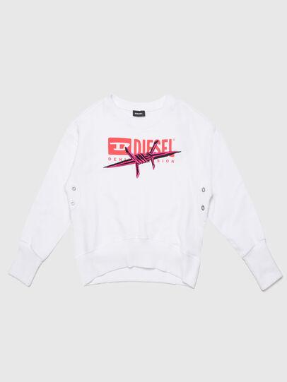 Diesel - SMAGDAC, Weiß - Sweatshirts - Image 1