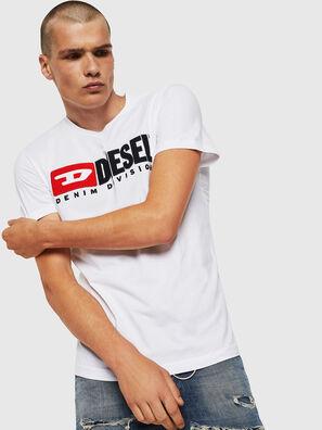 T-DIEGO-DIVISION, Weiß - T-Shirts