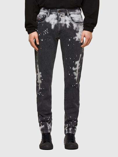 Diesel - D-Strukt 009RE, Noir/Gris foncé - Jeans - Image 1