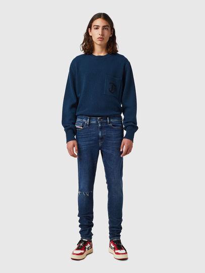 Diesel - D-Istort 09B31, Bleu Foncé - Jeans - Image 4