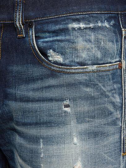 Diesel - D-Strukt 0092I, Blu Scuro - Jeans - Image 5