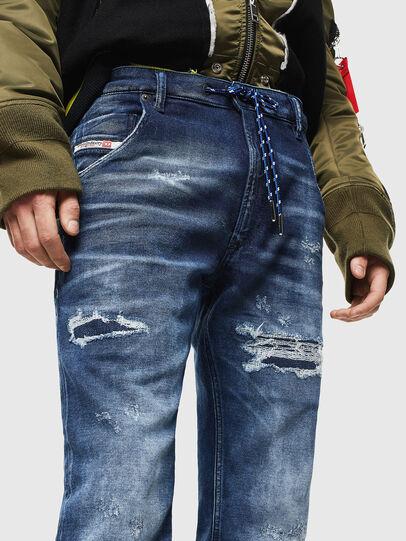 Diesel - Krooley JoggJeans 0097N, Dunkelblau - Jeans - Image 3
