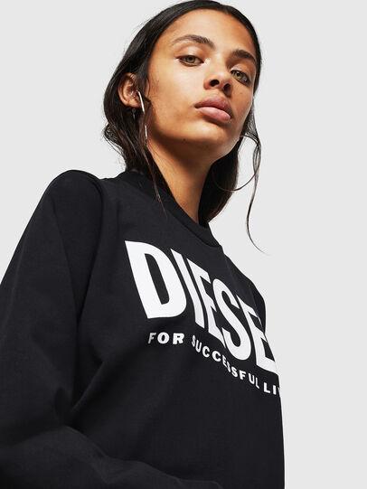 Diesel - F-ANG, Schwarz - Sweatshirts - Image 3