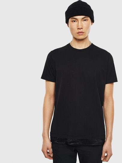 Diesel - T-TEIN, Schwarz - T-Shirts - Image 1