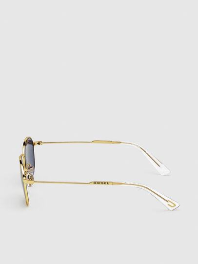 Diesel - DL0307, Gold - Sonnenbrille - Image 3