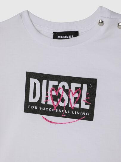 Diesel - TRIDGEB, Blanc - T-shirts et Hauts - Image 3