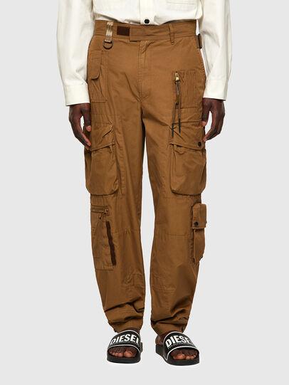 Diesel - P-GAGE, Marron Clair - Pantalons - Image 1