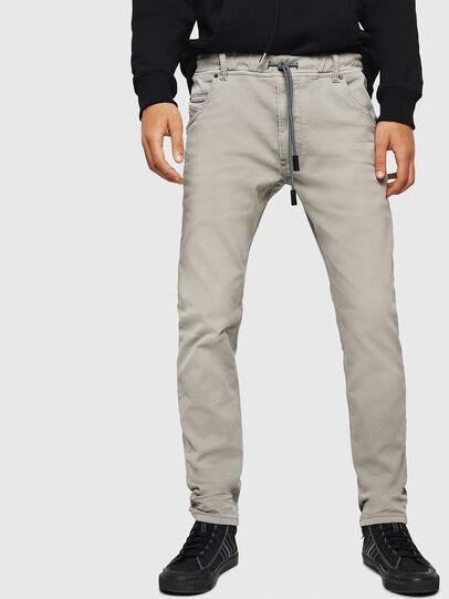 Diesel - Krooley JoggJeans 0670M, Hellgrau - Jeans - Image 1
