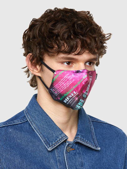 Diesel - FACEMASK-UNIVERSE-PI, Pink - Other Accessories - Image 2