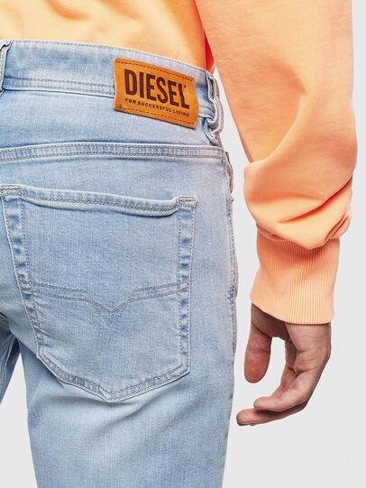 Diesel - Sleenker 009BJ, Hellblau - Jeans - Image 4