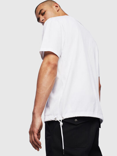 Diesel - T-HUSTY, Weiß - T-Shirts - Image 4