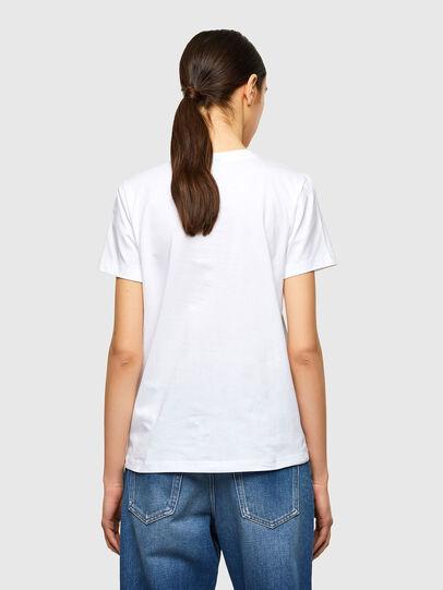 Diesel - T-SILY-K10, Blanc - T-Shirts - Image 2