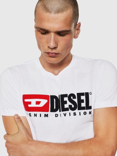 Diesel - T-DIEGO-DIVISION, Weiß - T-Shirts - Image 3
