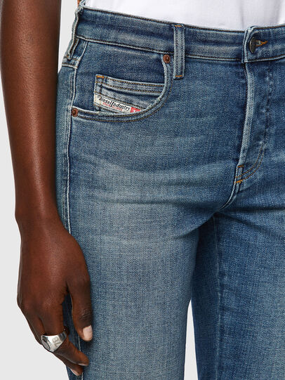 Diesel - Babhila 09A01, Blu medio - Jeans - Image 4