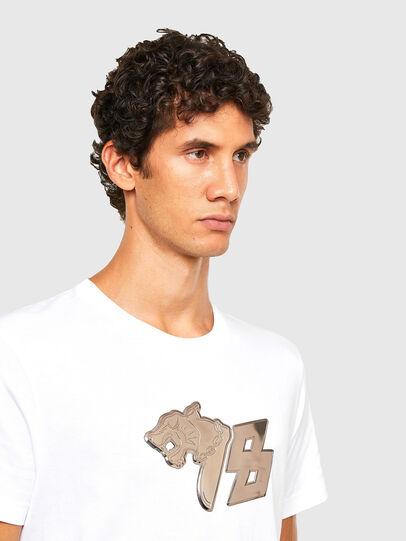 Diesel - T-DIEGOS-N29, Weiß - T-Shirts - Image 3
